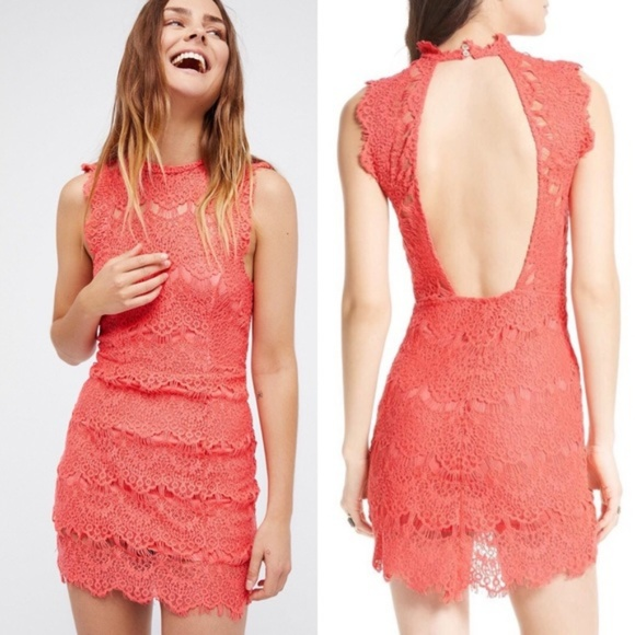 a5baeeb12358 Free People Dresses | Daydream Bodycon Lace Slip Dress | Poshmark